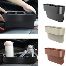 Universal Car Seat Seam Wedge Storage Phone Organizer Cup Holder Bottle Mount