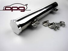 POLISHED ALLOY RADIATOR OVERFLOW RECOVERY TUBE/TANK HOLDEN HQ HJ HX HZ WB