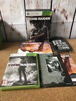 Tomb Raider Survival Edition Microsoft Xbox 360 18+ Action Adventure Game