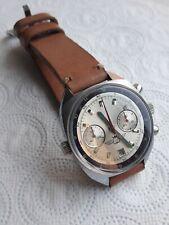 Vintage Aviator Pilot watch Poljot 3133 SHTURMANSKIE Chronograph Russland