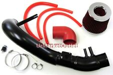 Cool Cold Air Intake Kit Black+Red Filter For Honda 06-11 Civic Si 2.0L 2/4Dr