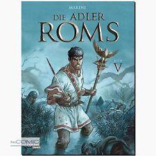 Die Adler Roms Buch 5 römisch germanisch Familien Drama COMIC Marini CARLSEN NEU