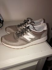 NEW BALANCE MENS  U420 NK / Brown White / SZ 10.5 / MADE IN USA