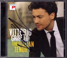 Vittorio Grigolo firmato The Italian tono Donizetti Puccini Verdi TOSCA CD