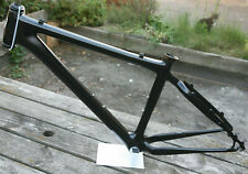 Retro kult Trek Elite 9 carbon fiber hardtail mountain bike frame frameset 17.5""
