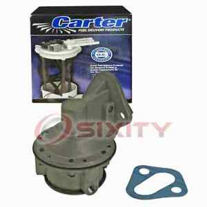 Carter Mechanical Fuel Pump for 1952-1957 Chevrolet Bel Air 3.5L 3.8L 3.9L we