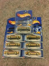 BLUE CARD TOYOTA gold LEXUS SC400 scale 1:64) HOT WHEELS #163