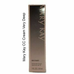 Mary Kay CC Cream Very Deep 1 FL. OZ. 1 DAY PROCESSING