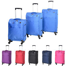 Lightweight Spinner (4) Wheels Luggage Sets