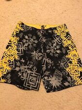 QUIKSILVER EDDIE AIKAU WOULD GO-WAIMEA BAY HAWAII EARLY 2000's RARE BOARD SHORTS