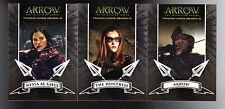 Cryptozoic Arrow season 2 A1 thru A3  card set