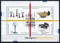Bund Block 45 gestempelt ESST Berlin BRD 2001 - 2004 Design Deutschland used