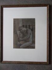 Le Vaincu, Portrait of Male Nude. Roger de la Fresnaye 1927 LE H/Finished Print