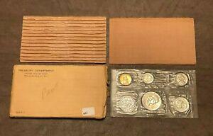 1956 US Mint Silver Proof Set, P Mint, 5 Coins in US Mint Envelope