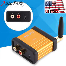 Bluetooth 4.2 Audio Receiver Stereo Hi-Fi Box Adapter RCA Output Support APTX
