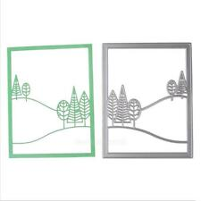 Hill Diy Cutting Dies Stencil for Scrapbooking Embossing Album Paper Card Crafts