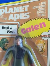 1974 Mego Planet of the Apes Galen Bend 'N Flex mint on sealed card ! nice
