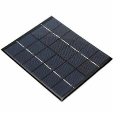 6V 330MA 2W  SOLAR PANEL,1M CABLE CHARGES BATTERIES,,POWERS 6V MOTOR,WATERPUMP