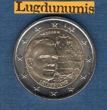 2 euro Commémo Luxembourg 2008 Chateau de Colmar-Berg SUP SPL De Rouleau