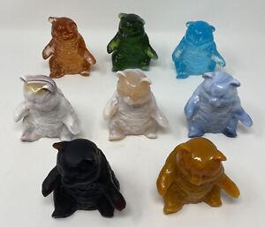 Mosser Glass Bear Lot Of 8