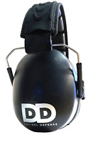 Professional Safety Ear Muffs by Decibel Defense - 37dB Nrr - The Highest Rat.