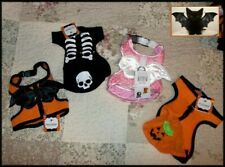 "FETCHWEAR Pet Dog Cat Hooded Pumpkin Harness Top  XS/S 12-14""  FREE SHIP + GIFT"