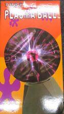 "7"" Plasma Ball Touch & Sound Motion Disco Party Light Nebula Thunder Globe"