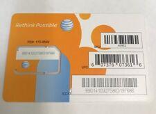 AT&T 40952 Orange Sim 64k 4g (IL/PL1-2555-40952-NIB)