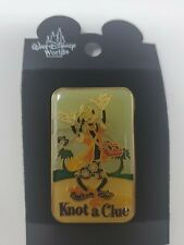 Pin 5590 Dcl - Goofy Knot A Clue Disney 2001 Disney Cruise Line New on Card
