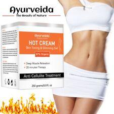 Caliente Anti Celulitis Crema Adelgazante-Aceite de relajación muscular profundo-pérdida de peso 250ML