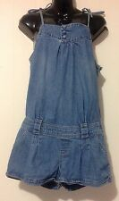 Ladies Size 11 Blue Denim One piece Short Shorts - Jay Jays