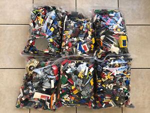 Lotto Lego Sfusi Solo Originali 10,5 Kg Star Wars city castle pilates vedi foto