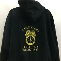 International Brotherhood Teamsters 3XL Sweatshirt Local 745 Dallas Texas Mens