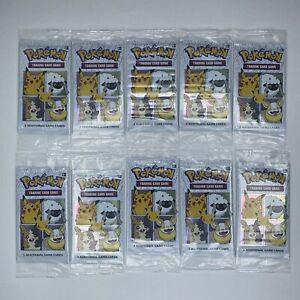 Cinnamon Toast Crunch Cereal Foil Pikachu Pokemon 3 Cards Included - 10 PACKS