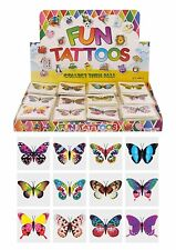 BUTTERFLY - 12 x 2 packs = 24 Tattoos supplied
