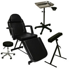 Tattoo Package Massage Table Chair Arm Bar Tray w/ Cup Salon Studio Furniture