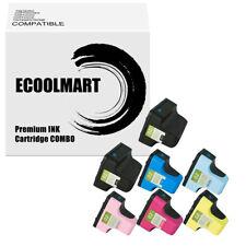 7PK Ink Cartridges replace for HP 02XL Photosmart 3210xi 3213 D7155 D7160 D7345