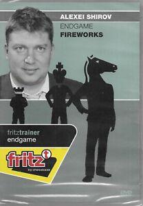 Endgame Fireworks - Alexei Shirov Chess DVD by Chessbase W/ Free Shipping