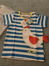 Frugi Chicken T Shirt Brand New 12/18 Months