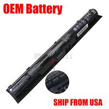 NEW OEM KI04 Battery HP Pavilion 14-ab000 15-ab000 17-g000 800049-001 N2L84AA