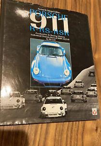 Porsche 911 RS -RSR Book Starkey