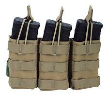 Warrior Triple Open Army Mag Pouch Coyote BW G36 Bundeswehr Magazin Tasche