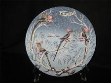 "Haviland Limoges 12 Days Of Christmas ""Four Coly Birds"" Collector Plate"