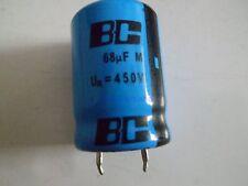 Vishay BC 68µF 450V -25 - + 85°C LL 057 57689 Elko Snap-In Style *Neu* *1 Stück*