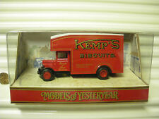 MATCHBOX MODELS OF YESTERYEAR 1990 Y31 1931 KEMPS BISCUITS MORRIS COURIER NuBxd*