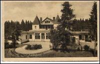 Heilstätte Albertsberg Sachsen 1927 gelaufen bei Auerbach Haupansicht Vogtland