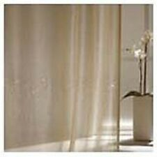CHAMPAGNE PLAIN LEADWEIGHTED VOILE BY ADO - 340CM DROP - SOLD BY THE METRE