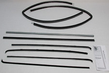 1955-1957 CHEVY SEDAN DELIVERY WINDOW WEATHERSTRIP SUPERKIT 8 PIECES