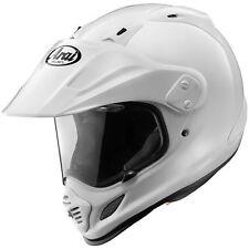 Arai XD4 XD 4 Solid White Helmet Large L LG Dualsport Crossover Design NEW