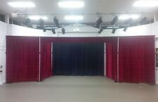 Black backdrop for Stage, Theatre or Club 6m x 4m